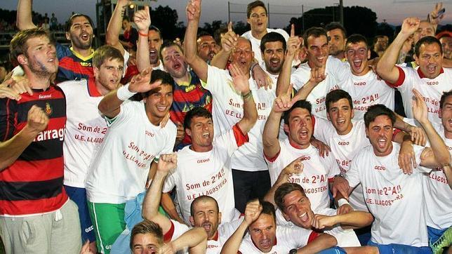 Histórico ascenso del Llagostera a Segunda división
