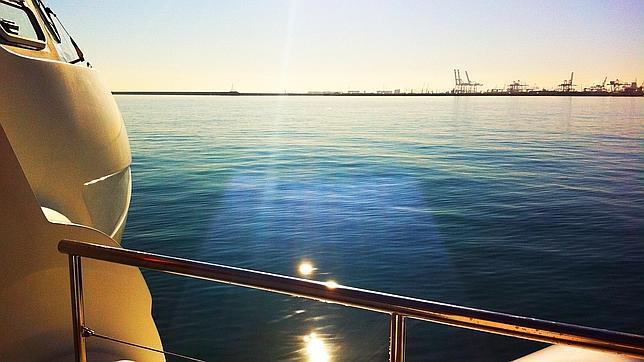 Vistas desde uno de los catamaranes del Puerto