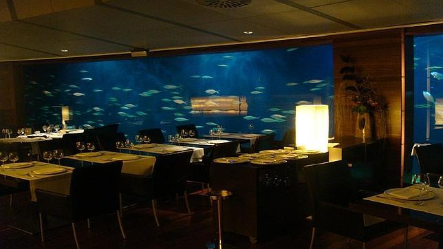 Interior del restaurante Submarino
