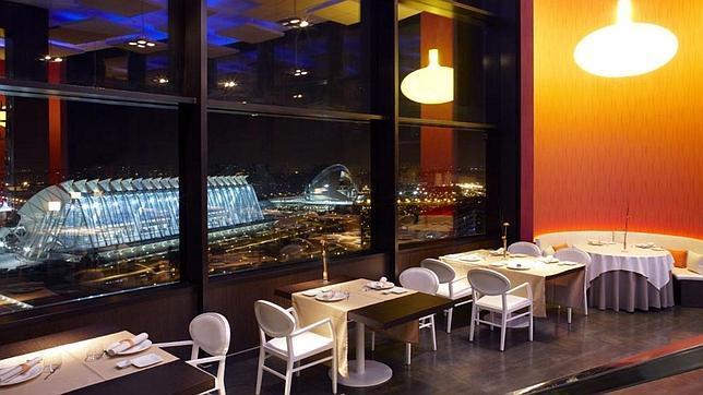 Imagen del restaurante Vertical, con unas vistas privilegiadas
