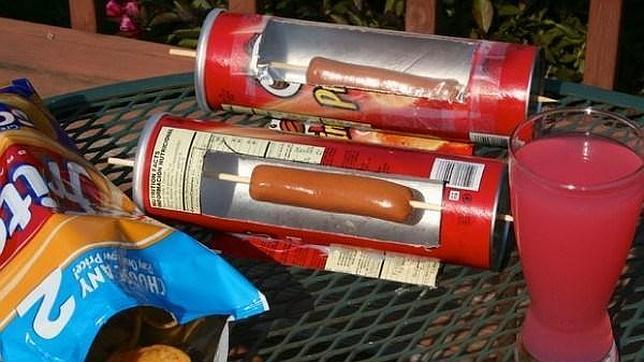 inventos con lata de pringles