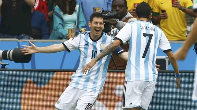 Un doblete de Messi es suficiente