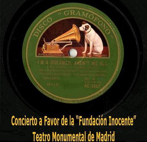 El «Gramóphono de la Abuela» presenta un concierto benéfico a favor de la «Fundación Inocente»