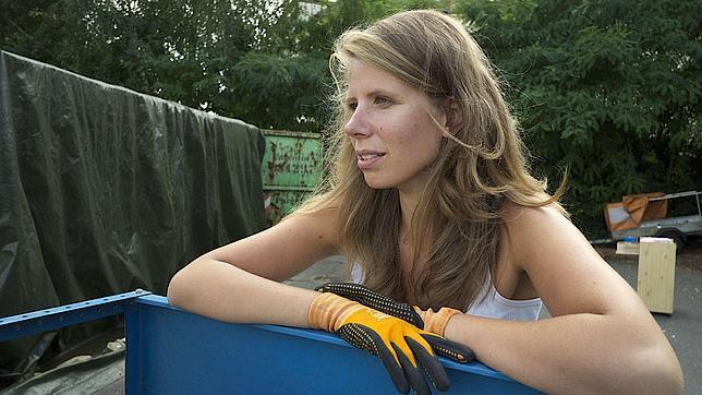 Una joven alemana pasa un año sin consumir nada
