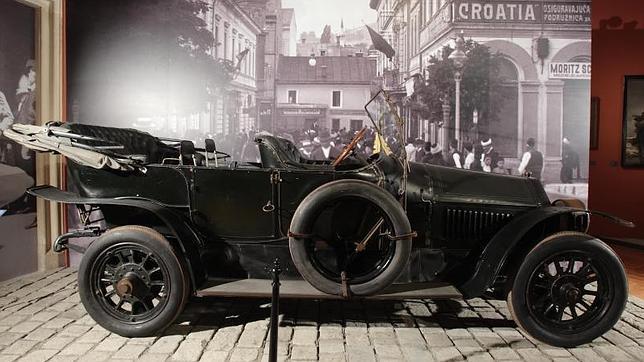 El destino del coche en el que empezó la I Guerra Mundial