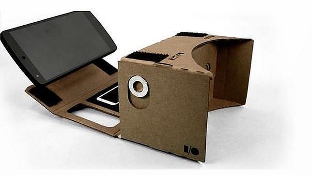 Piratean las nuevas gafas de cartón de realidad virtual de Google