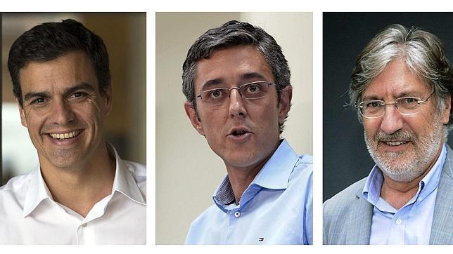 Pedro Sánchez casi dobla en avales a Eduardo Madina para liderar el PSOE