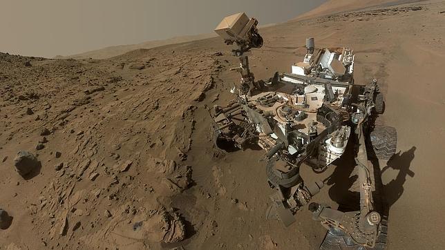 Todo lo que rodea al Curiosity en Marte, en una espectacular panorámica