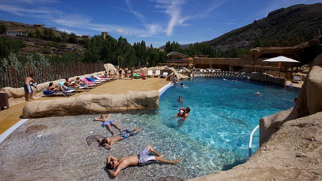 La piscina del parque Barranco Perdido