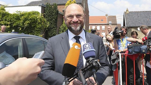 Martin Schulz, reelegido presidente del Parlamento europeo