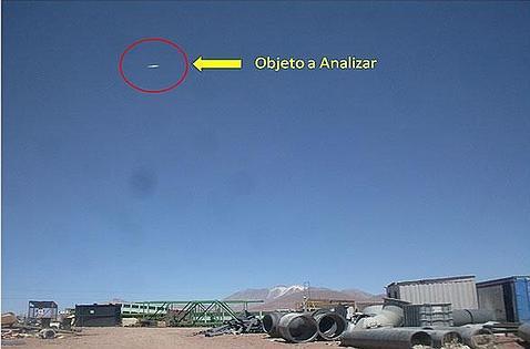 ¿Un ovni en el cielo de Chile?
