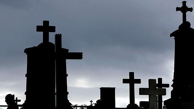 Un cementerio en Oviedo