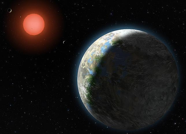 Resultado de imagen de Gliese 581