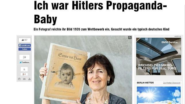 La bebé modelo de los nazis... ¡era judía!