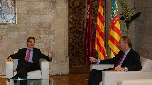 Fabra exige por carta a Mas que cesen las injerencias sobre la Comunidad Valenciana