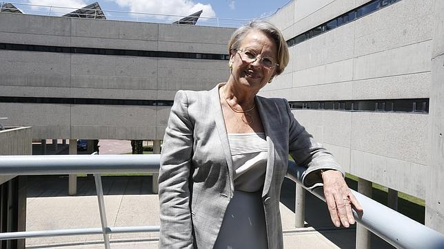 Michèle Alliot-Marie durante la entrevista con ABC
