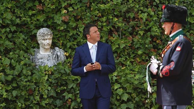 Renzi espera a Barroso antes de la reunión de ambos en Roma el viernes