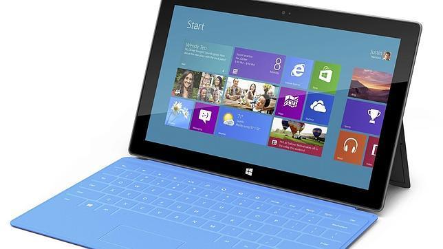 Detalle de la nueva tableta de Microsoft, la Surface Pro 3