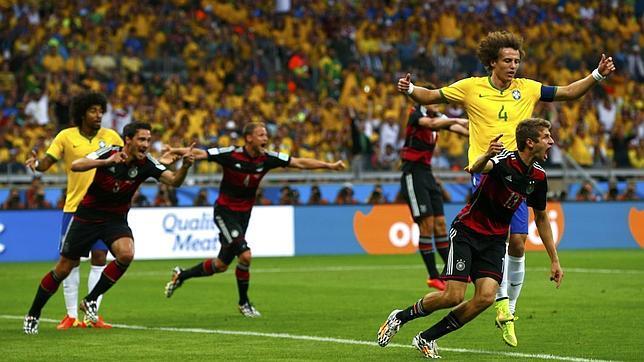 Alemania vs Brasil rompe todos los records en Twitter como evento deportivo