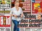 La mujer de Michael Schumacher vuelve a sonreír tras el trágico accidente de esquí de su marido