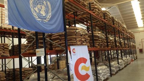 Las Palmas: nueva base de la ONU contra el hambre en África