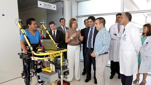 El hospital de Parapléjicos duplica sus instalaciones con el nuevo edificio