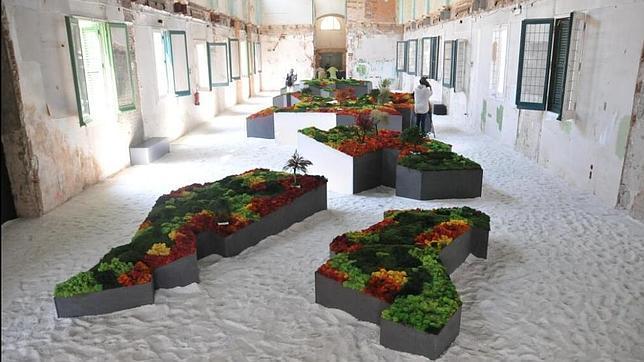 Un jard n japon s entre pabellones modernistas - Plantas jardin japones ...