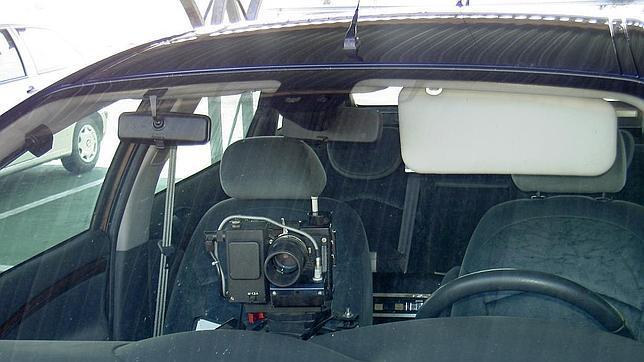 Radares móviles junto a farolas y sin avisar