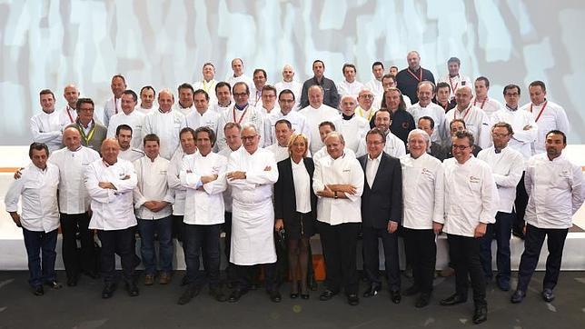 Los cocineros que han fundado el Colegio Culinario de Francia