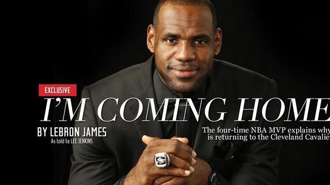 Regreso de LeBron James a los Cavaliers revoluciona Twitter