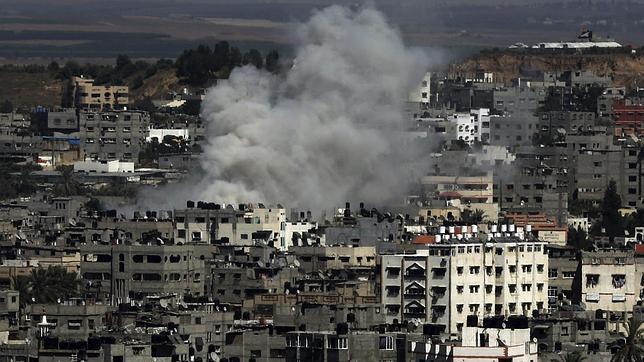 El conflicto bélico en Israel y Gaza, una batalla de cohetes