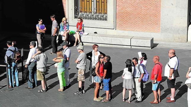 Madrid «gana» medio millón más de turistas en 2014