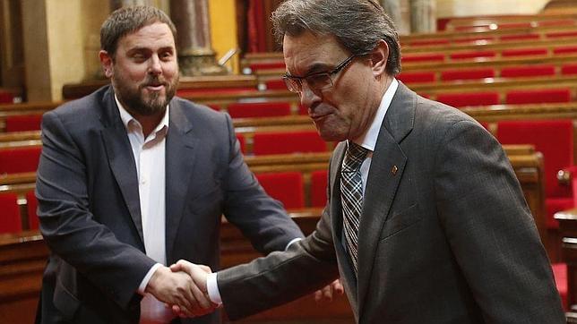 ERC pide independizar Cataluña con Valencia, Baleares y parte de Aragón