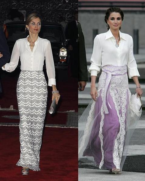Rania y Letizia: dos Reinas y un mismo estilo