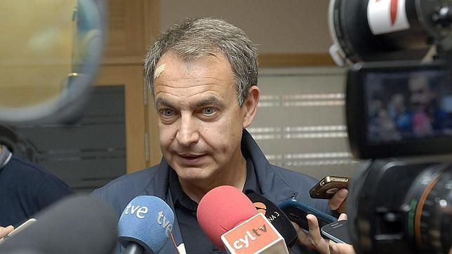 José Luis Rodríguez Zapatero, fotografiado el pasado domingo