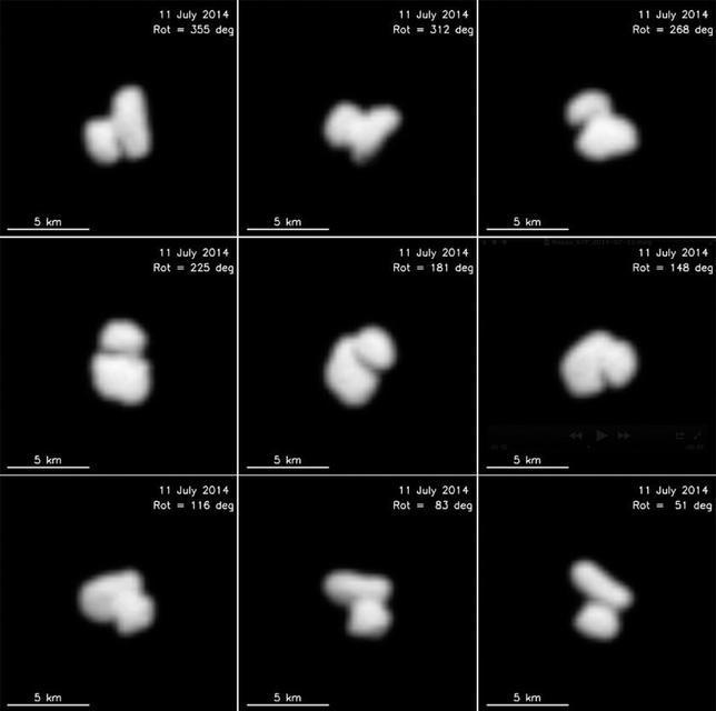 Sorpresa: el cometa donde aterrizará Rosetta es doble