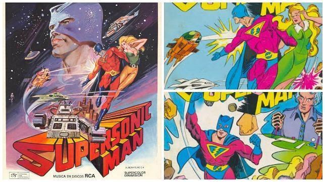 Un cómic rescata a «Supersonic Man», el único héroe español llevado al cine