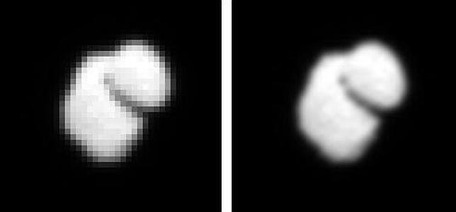 Rosetta se dirige hacia un «pato de goma» espacial