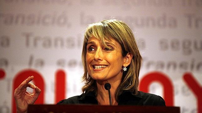 La exdiputada del PP Montserrat Nebrera, candidata por CDC en Sant Just