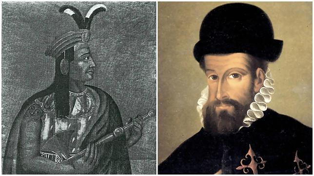 Francisco Pizarro y el emperador Atahualpa se hicieron amigos, hasta el punto de que Pizarro lloró por tener que ordenar su ejecución