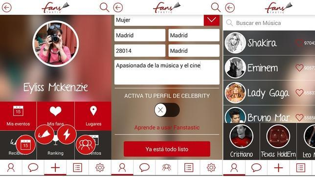 Fanstastic: una «app» para obtener autógrafos de las «celebrities»