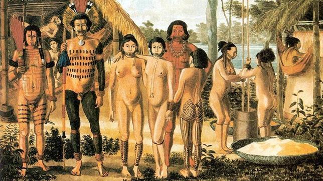 El significado original de la expresión «hacer el indio»