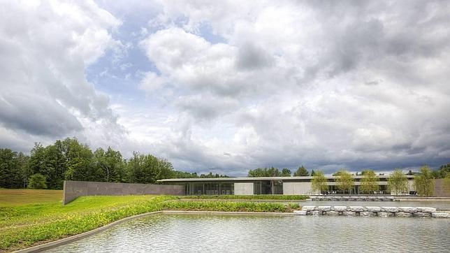 Tadao Ando envuelve de paisaje la nueva sede del Clark Art Institute