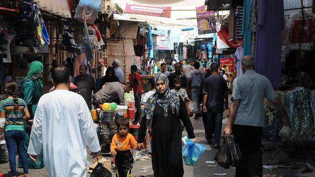 De compras en la guerra de Gaza