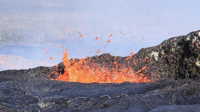 ¿Cuánto magma hay bajo el suelo?