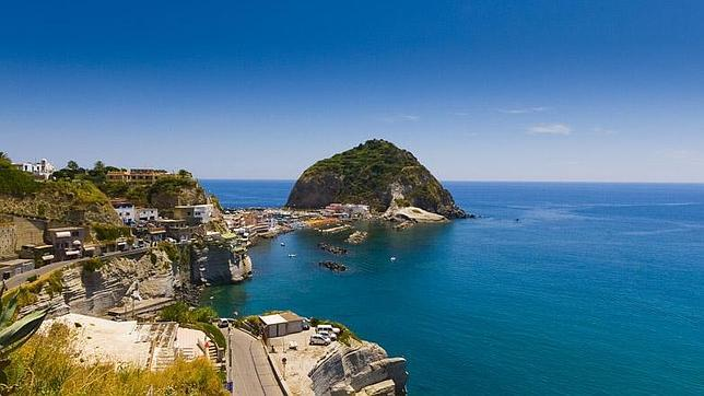 Vista de Sant Angelo de Ischia