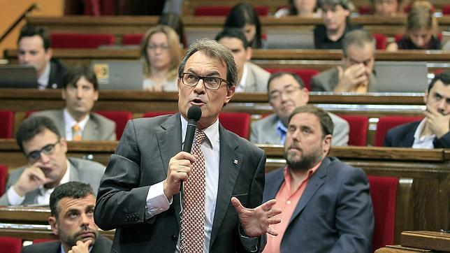 El «mes horribilis» del nacionalismo catalán
