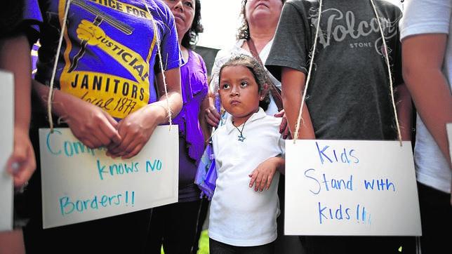 Más de 57.000 niños no acompañados han sido detenidos este año en la frontera de Estados Unidos