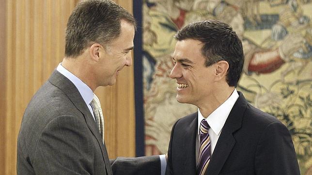El Rey aborda con Pedro Sánchez la situación política y económica de España
