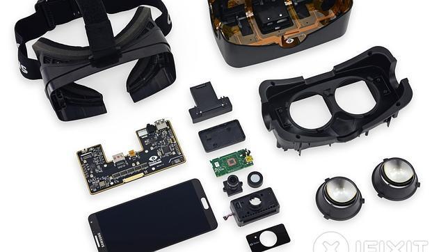 Destripan las Oculus Rift 2 y encuentran que usa las pantallas del Galaxy Note 3